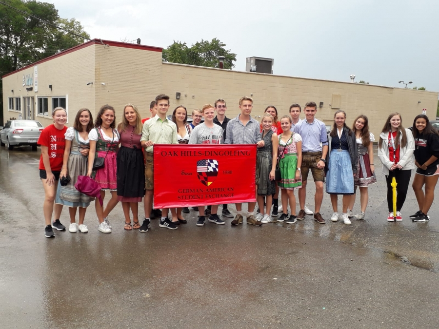 German students who came to OHHS