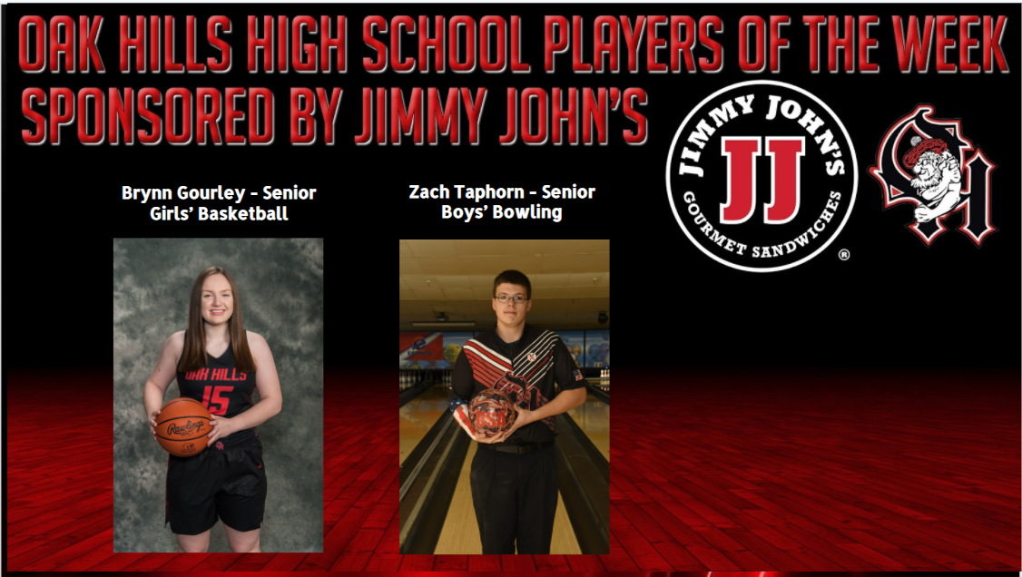 Jimmy John's OHHS Players of the Week
