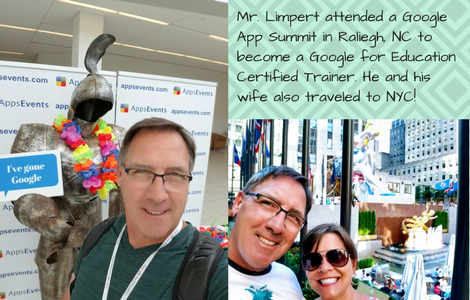 Mr. LImpert and his wife in NYC